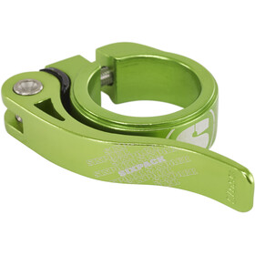 Sixpack Menace Saddle Clamp Ø31,8mm electric-green